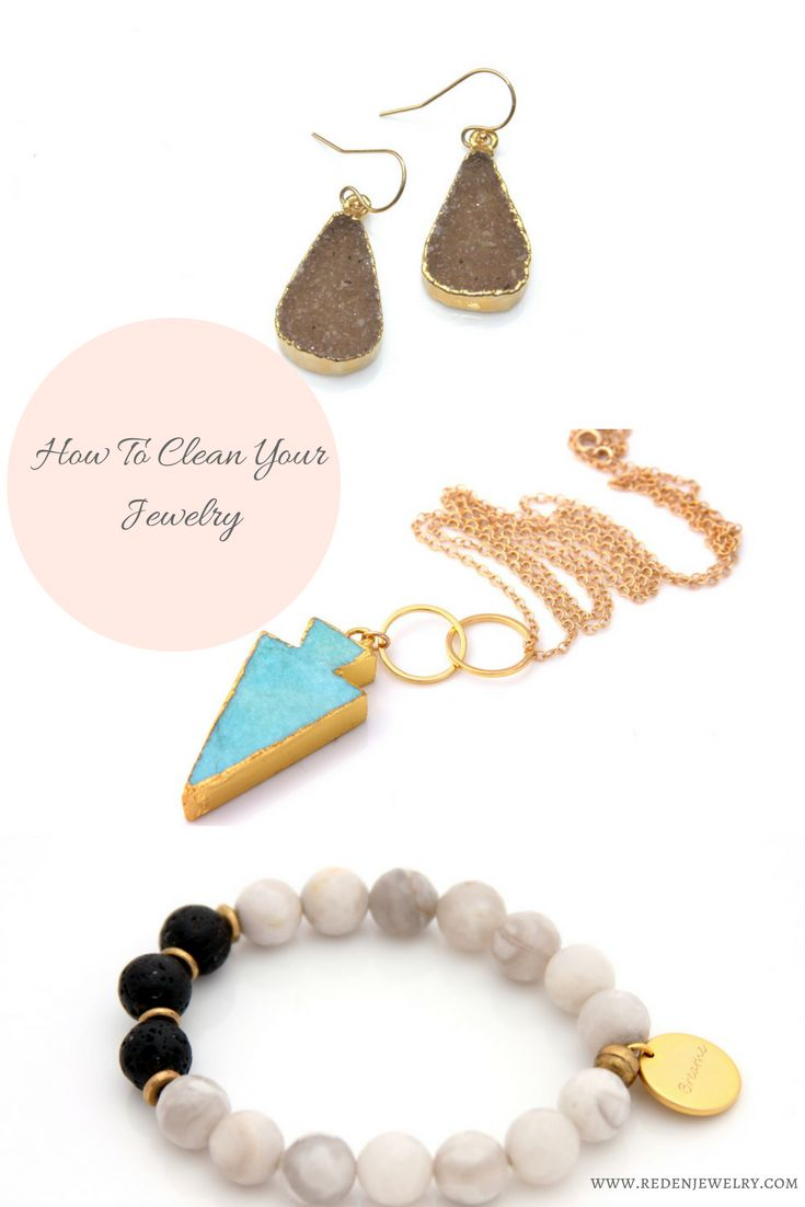 how to clean jewelry - tips for cleaning sterling silver, gold filler and gold plated jewelry