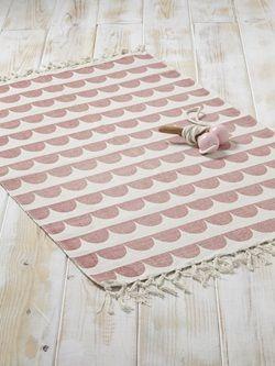 Teppich, grafisches Muster, Baumwolle                                                                                                                                                                                 Mehr