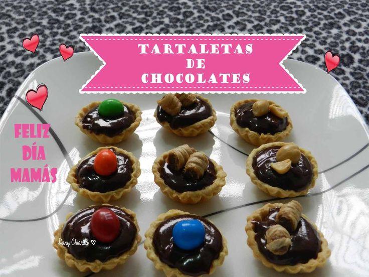 Regala unas Tartaletas de Chocolate a tu MAMÁ en su día!