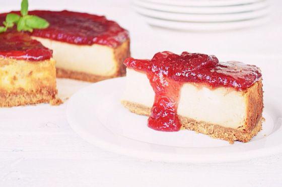 Dulce de leche, baked Cheesecake