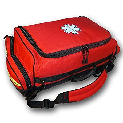 Trauma Bag With Deluxe Fill First Aid Kit (Red): Amazon.ca: Industrial & Scientific