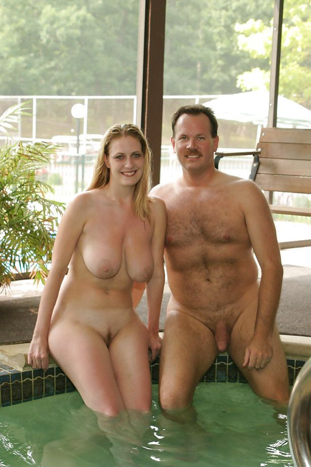 Nude nudist couples