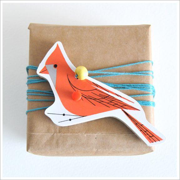 jigsaw piece gift wrap.