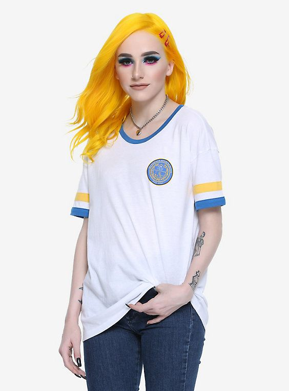 Riverdale High School Girls Ringer T-Shirt Hot Topic Exclusive, MULTI COLOR