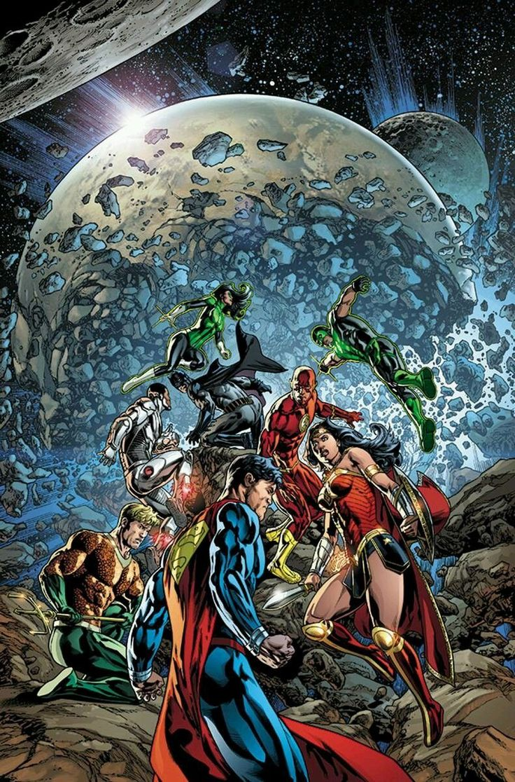 #Justice #League #Of #America #Fan #Art. (Justice League Vol.3 #4 Cover) By: Fernando Pasarin & Brad Anderso. ÅWESOMENESS!!!™ ÅÅÅ+