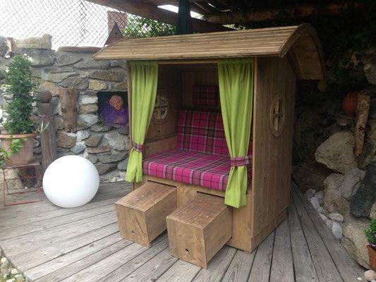 22 besten strandkorb im garten urlaubsfeeling f r zuhause bilder auf pinterest strandkorb. Black Bedroom Furniture Sets. Home Design Ideas