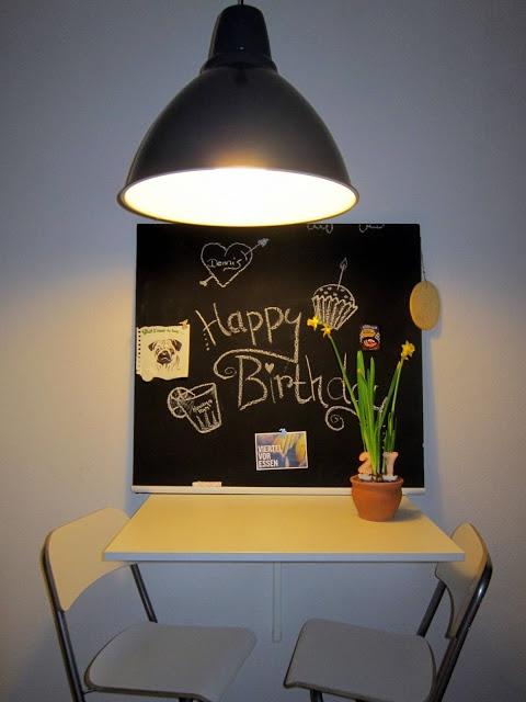 wie man eine tafel selber machen kann my handmade. Black Bedroom Furniture Sets. Home Design Ideas