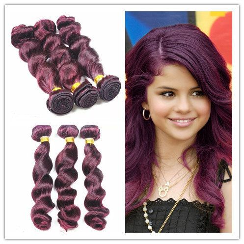 312 best i love human hair extensions images on pinterest human ombre 100 human vigin hair extensions burgundy hair 3pcsbundle funmi wavy hair extension pmusecretfo Image collections