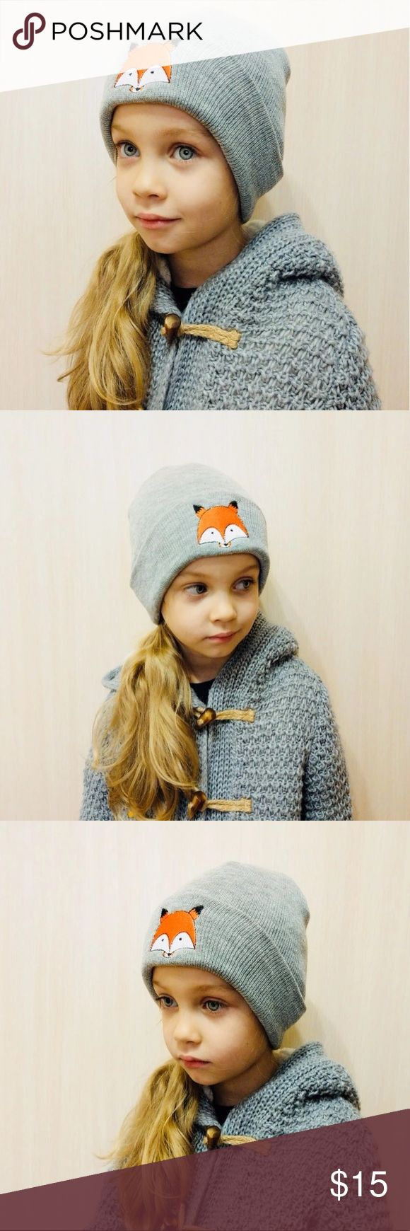 """""""Sometime Sly, Always Sweet"""" incredibly soft blend of cotton/polyester/acrylic, definitely a unisex style and adorable on any of our little posh kiddos.  Bundle to get a discount. TSH Accessories Hats"""