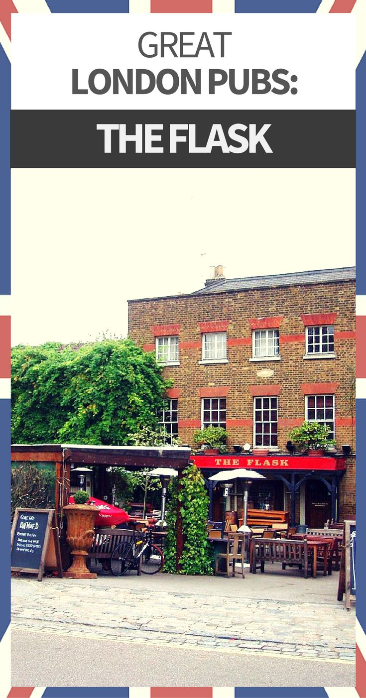 The northern suburb of Highgate is home to The Flask.  Claims have been made that a pub known as The Flask has stood on this site for several centuries.  Fuller's London Pride is the favored pale ale on tap. The ploughman's sandwich justifies the journey.