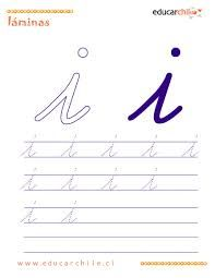 Afbeeldingsresultaat voor grafomotricidad letras i