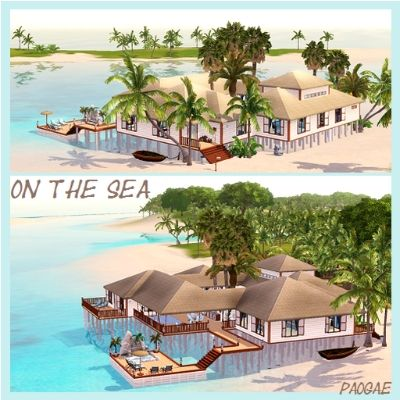 On the Sea by paogae - The Exchange - Community - The Sims 3