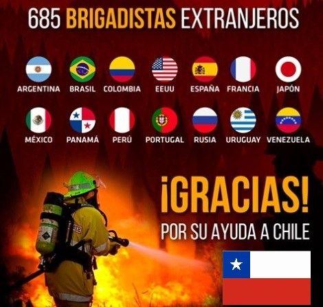 Gestión de Terremotos.: Mega Incendio Forestal en Chile