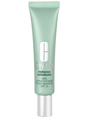 COLOR CORRECTING - Clinique Redness Solutions Daily Protective Base - very light weight and has a light amount of color correcting.  Sometimes I mix this with the physicians formula concealer rx to get more coverage.