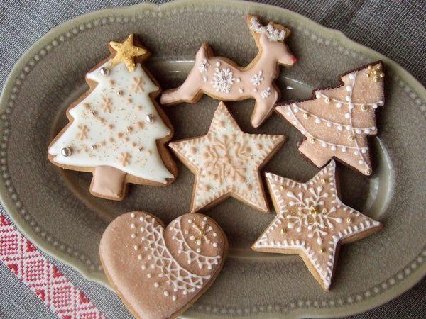 アイシングクッキー クリスマスバージョン : grue*press