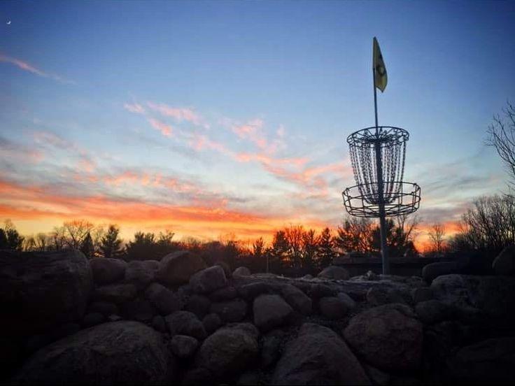 Disc golf at burchfield park in holt mi 1117 disc