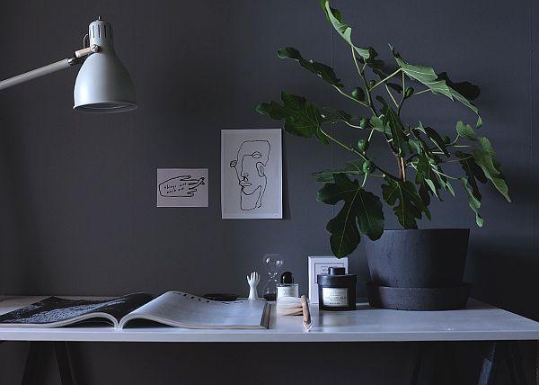 Gästbloggare Annie   Hemmakontoret för Hitta hem  Foto och Styling Annie Lindgren
