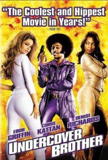 Undercover Brother is a 2002 American comedy film starring Eddie Griffin and directed by Malcolm D. Lee. The screenplay is by Michael McCullers and co-executive producer John Ridley, who created the original internet animation characters. It spoofs blaxploitation films of the 1970s as well as a number of other films, most notably the James Bond franchise. Stars former SNL cast Chris Kattan, Dave Chappelle, Aunjanue Ellis, Neil Patrick Harris, Denise Richards, Billy Dee Williams, and James…