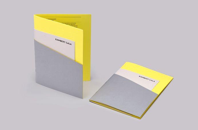 Rambert Summer Gala Materials – twodesign