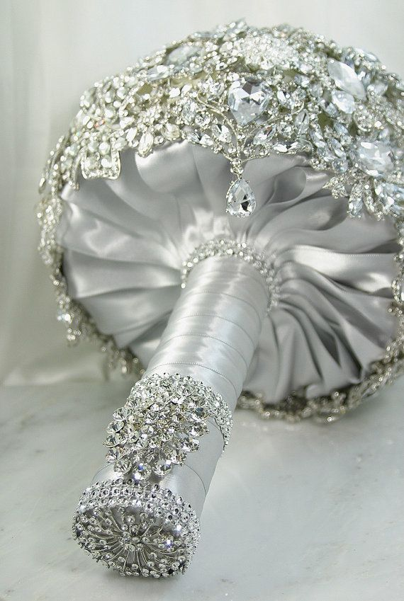 136 Best Images About Bouquet From Jewelry On Pinterest