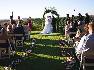 winery weddings have become very popular