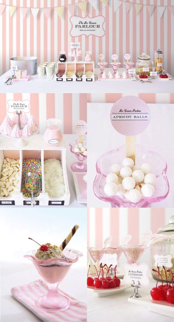 Belle Bébés - Ice Cream Parlour Buffet