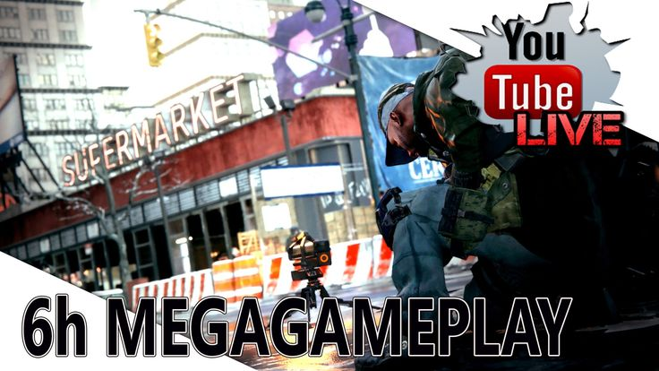 The Division - PC BETA ▼6h MEGAGAMEPLAY ▼ Youtube Live ▼ Sonky GamJay