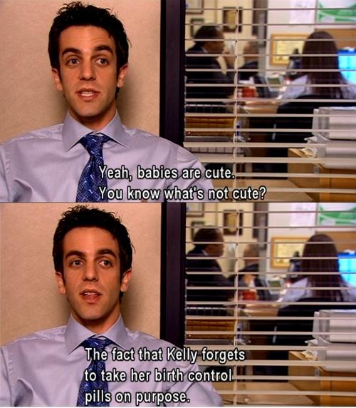 The Office: Ryan and Kelly, hahahahahaha:)