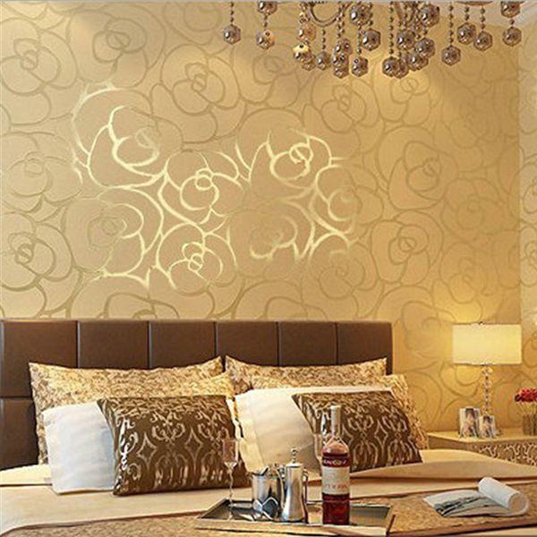Resultado de imagen de papeles pintados para dormitorios for Papel de pared para dormitorio