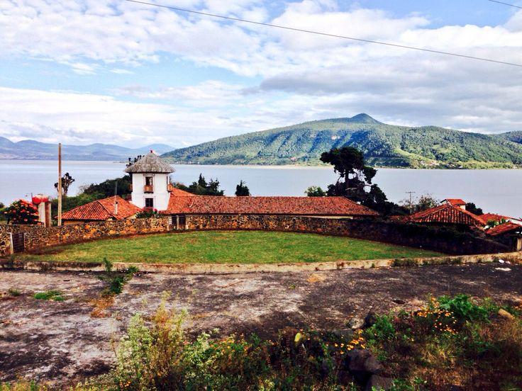 Erongaricuaro Michoacan, a view from Lake Janitzio