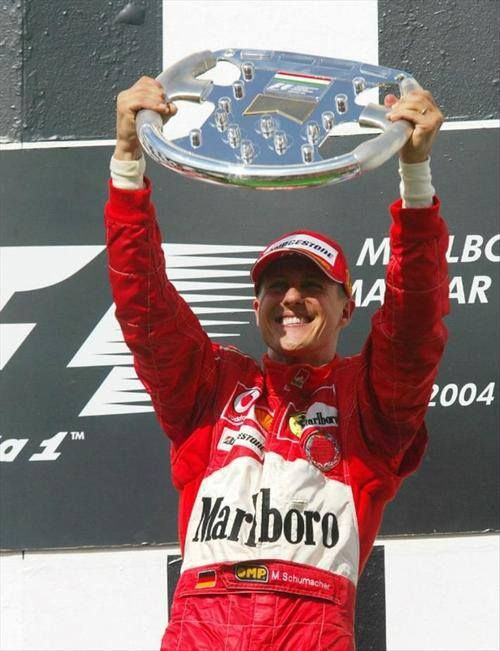 In 2004, Michael Schumacher won the Hungarian GP and secured Ferrari their 6th consecutive constructor's title.