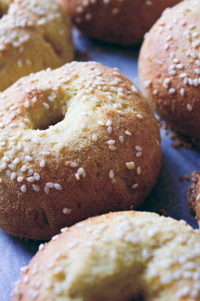 Nötfria bagels på kokosmjöl |sannaspaleo.se