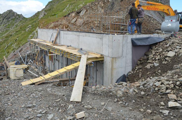 Hier entsteht die neue Bergstation #silvrettamontafon #panoramabahn #vorfreude