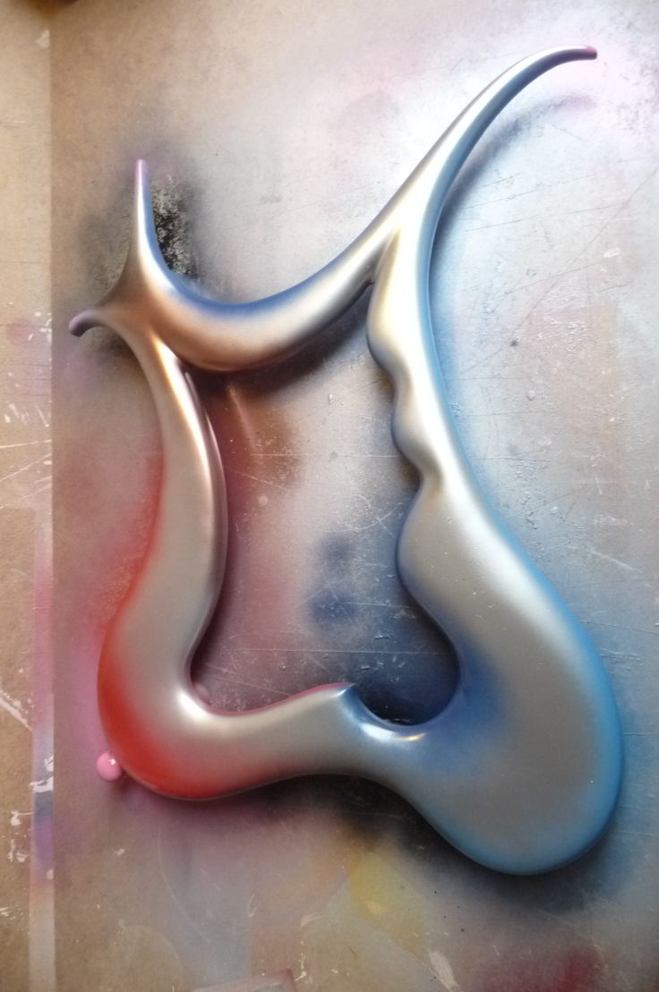 Our newest modern art mirror the Dali - Inspired by surrealism and made by hand by a designer...