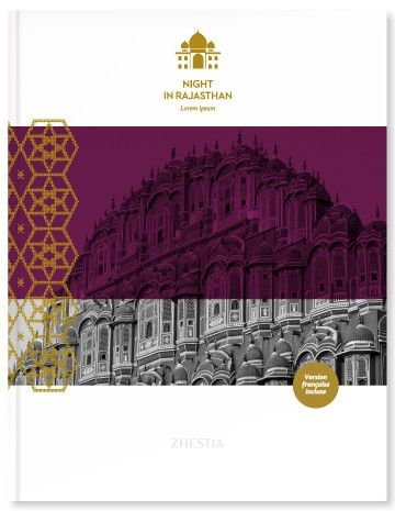 Zhestia | Night in Rajasthan History and Photo Book