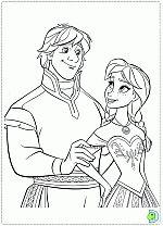 Frozen Coloring Pages Disneys DinoKidsorg