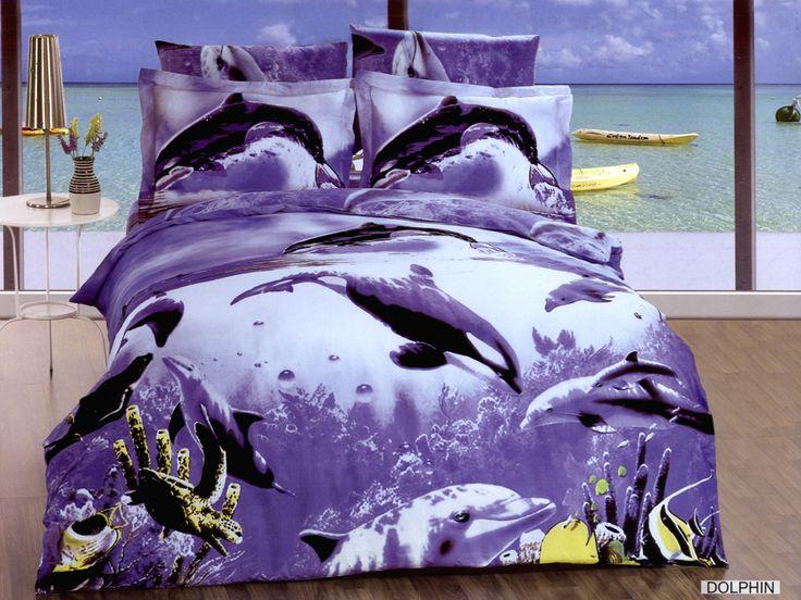 Dolphin Bedding Arya Dolphin Twin Bedding Fashion