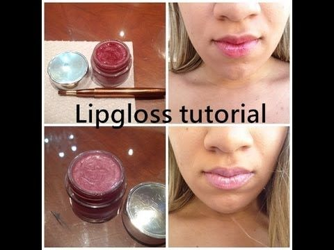lip gloss made from lipstick tutorial no heat/ Lip gloss από κραγιόν