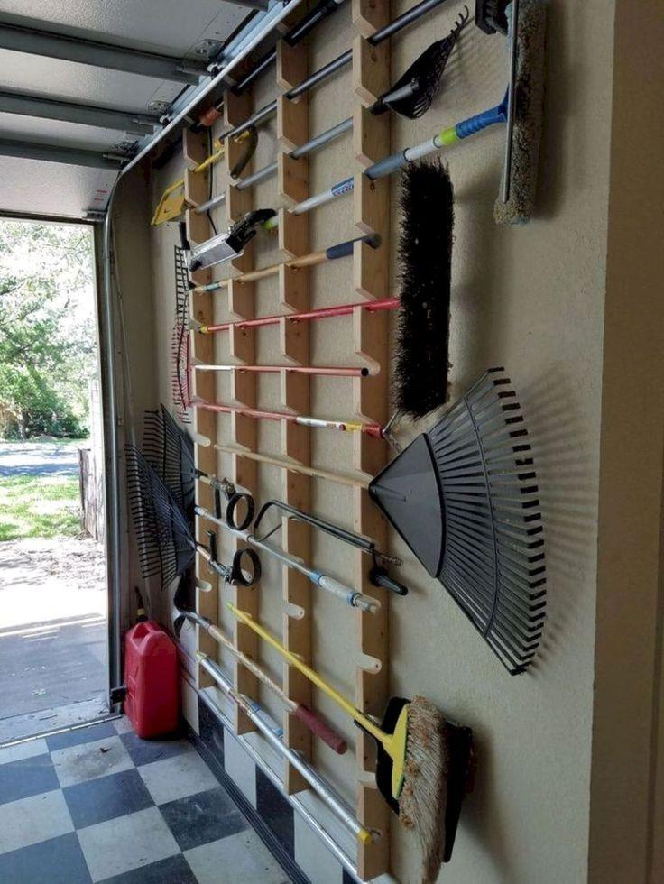Smart Garage Storage Organization Hack 46 – Home