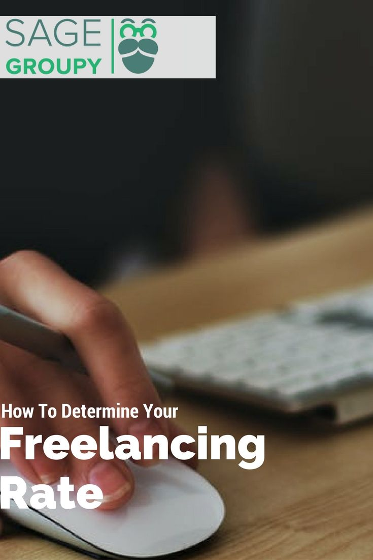 How to determine your freelancing rate. #freelancing #freelancingtips