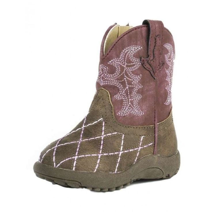 ROPER INFANT COWBABY CROSSCUT  Dress your little cowgirl up with these gorgeous boots.  $54.95