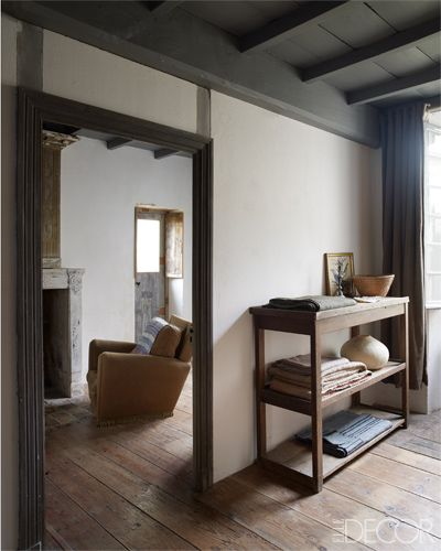 Antique Homes - Mathilde Labrouche interiors - ELLE DECOR