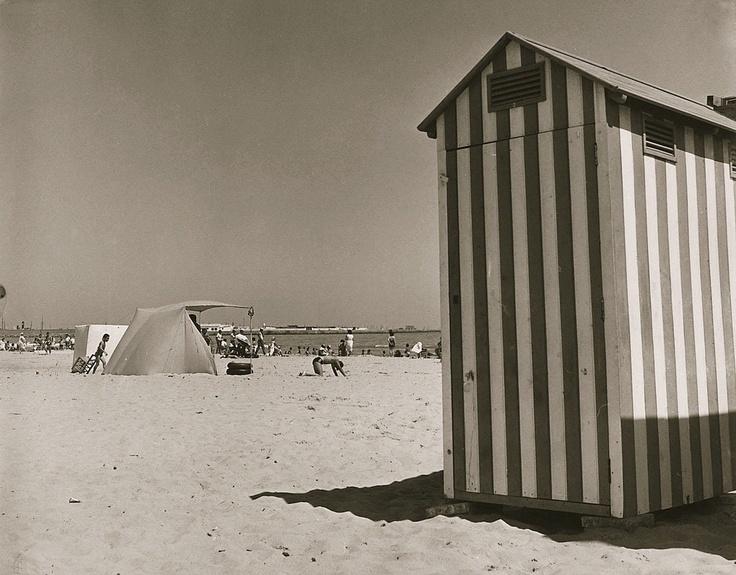 Playa de Nazaret. Años 60