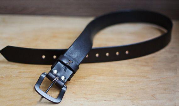 Handmade Leather belt. Leather belt men. Women от ArtLeatherDesign