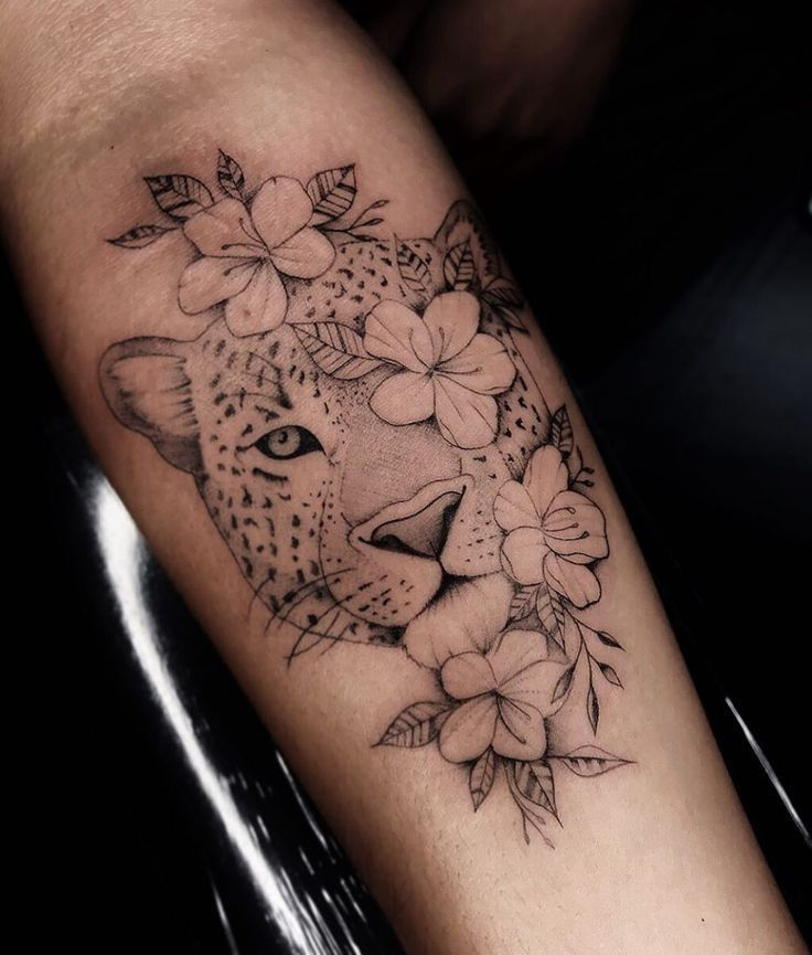 Pin by Lexis Goffena on Tattoos in 2020 Leopard tattoos