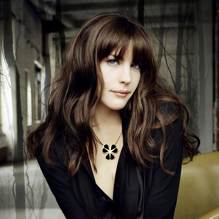 Liv Tyler-  just so stunning with great hair.