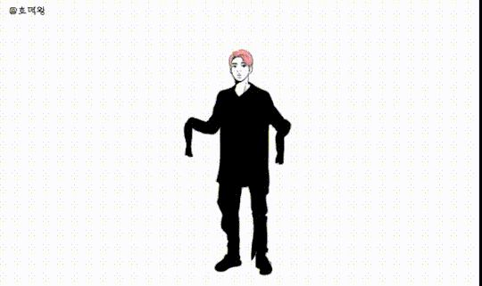 RAPMON OCTOPUS DANCE {GIF} Who else crying here X'D - thanks to whoever made this