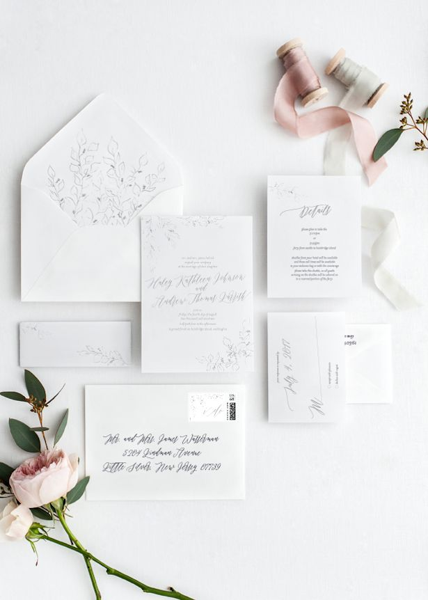 not on the high street winter wedding invitations%0A All White Wedding Ideas for a Fabulous Winter Wedding