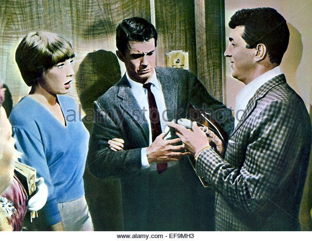 SHIRLEY MACLAINE CLIFF ROBERTSON & DEAN MARTIN ALL IN A NIGHT'S WORK (1961)…
