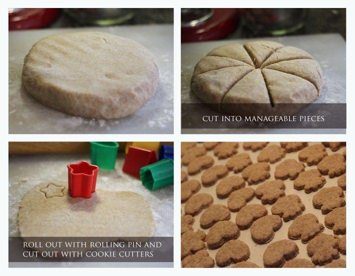 homemade arrowroot baby cookies